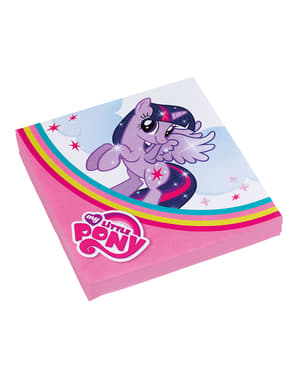 20 serviettes en papier My Little Pony(33x33 cm)