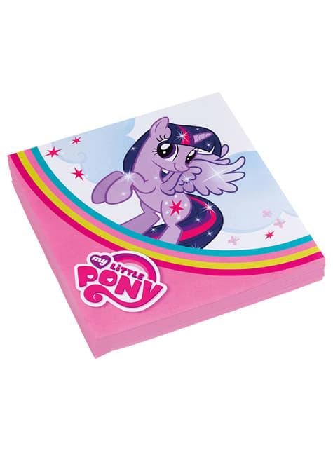 20 My Little Pony Servietten (33x33 cm)
