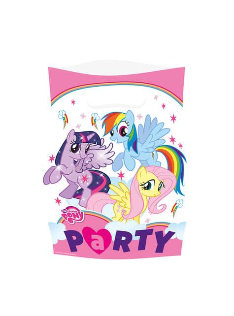 8 bolsas de Mi Pequeño Pony