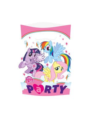 8 bolsas de chucherías de Mi Pequeño Pony