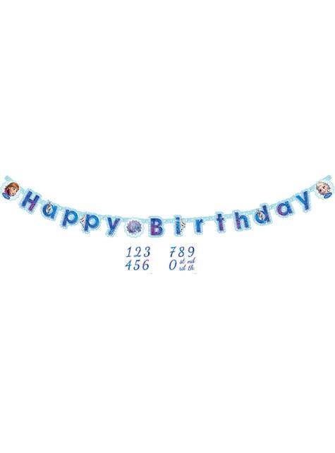 Grinalda Feliz Aniversário de Frozen