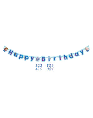 Guirnalda Feliz Cumpleaños de Frozen