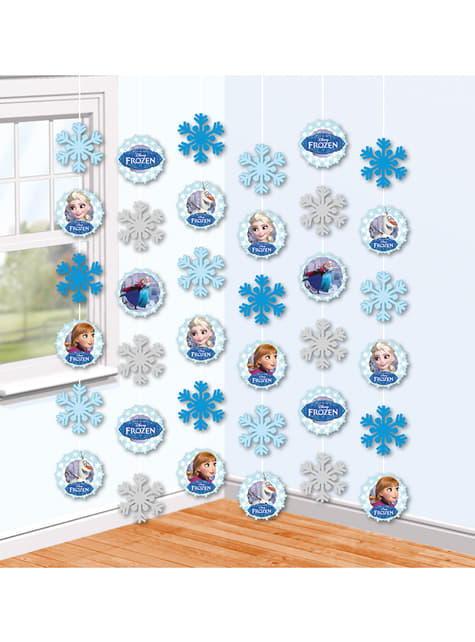 decoração pingente Frozen