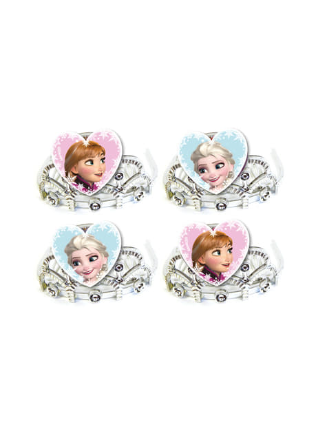 4 tiaras de Frozen