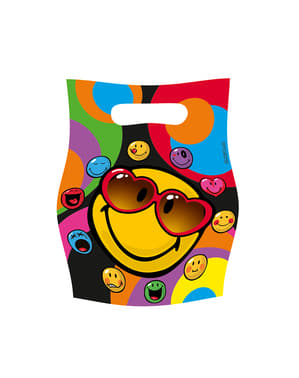 Set of Smiley Express Yourself Bags