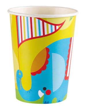 8 Fisher Price Circus Cups