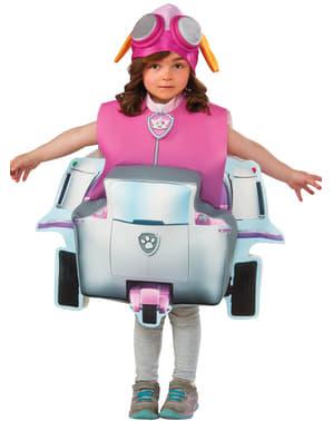 Costum Skye Patrula Cățelușilor deluxe pentru fată