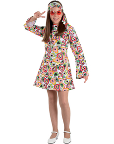 Disfraz de Años 70 para niña