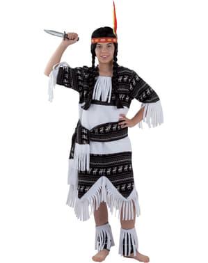 Tyttöjen Cherokeeintiaaniasu
