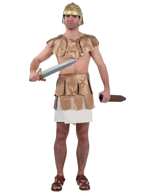 Disfraz de gladiador romano clásico para hombre