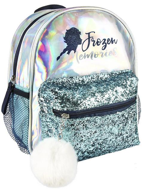 Elsa Frozen 2 backpack for girls in silver - Disney
