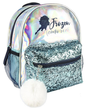 Elsa Frozen 2 backpack for girls in silver - Disney