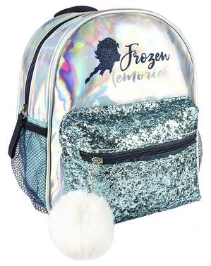 Srebrny plecak dla dziewczynek Elsa Kraina Lodu 2 - Disney