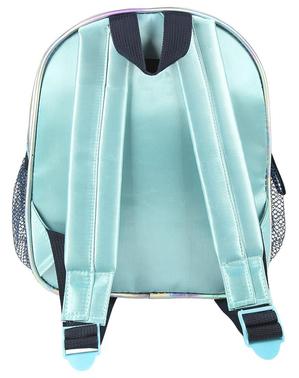 Flitrovaný batoh Elsa Ľadové kráľovstvo 2 pre dievčatá v striebornej farbe - Disney