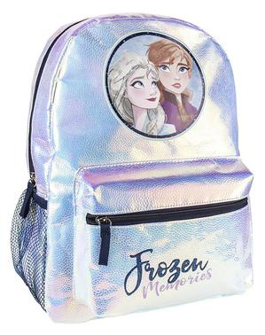 ディズニー 女の子用アナと雪の女王2「メモリーズ」フラシ天リュックサック