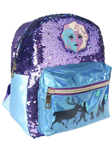 Frost 2 ryggsekk med paljetter til jenter - Disney