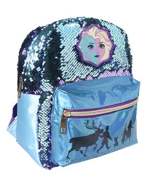 Ghiozdan Regatul de gheață 2 (Frozen) cu paiete pentru fată - Disney
