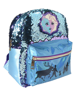 Mochila Frozen 2 com lantejoulas para menina - Disney