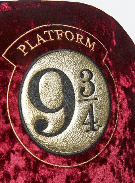 Mochila de Harry Potter Andén 9 y 3/4 de terciopelo