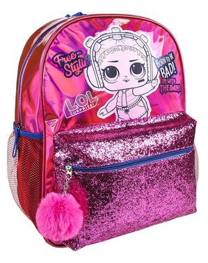 Batoh LOL Surprise pre dievčatá v ružovej farbe