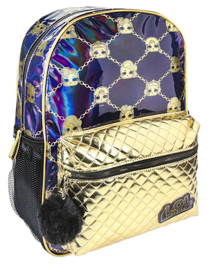 LOL Surprise backpack for girls in blue