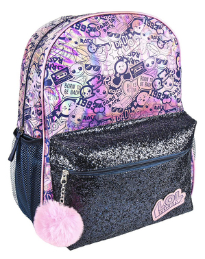 LOL Surprise Figuren Rucksack rosa für Mädchen