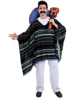 Maskeraddräkt elegant mexikan vuxen
