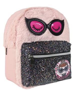 Plyšový batoh LOL Surprise pre dievčatá v ružovej farbe