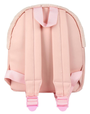 LOL Surprise plush toy backpack for girls in pink