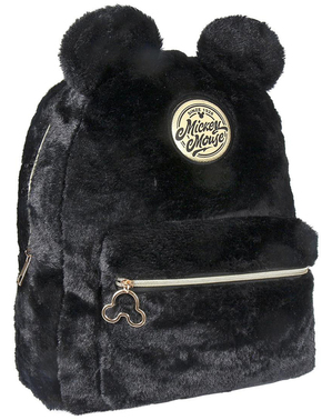Mickey Mouse plush toy backpack with ears - Disney