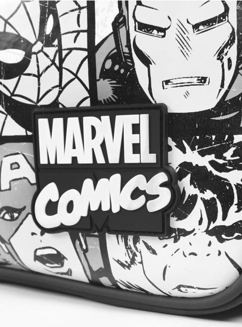 Avengers shoulder bag in black and white- Marvel - cheap