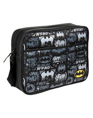 Черно-бяла чанта през рамо с Батман– Комикси DC