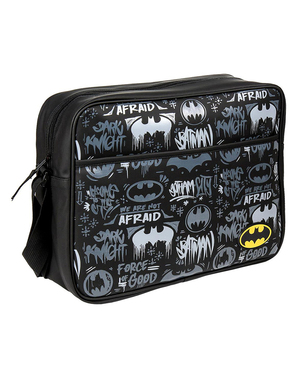 תיק כתף באטמן בשחור ולבן - קומיקס DC