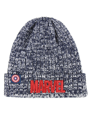 Marvel hat for men in grey