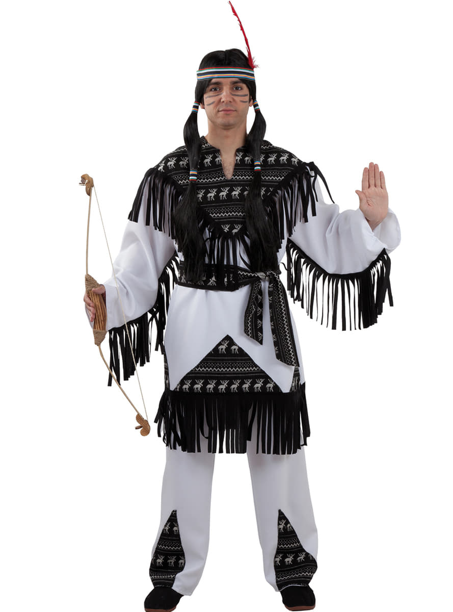cherokee indianer kost m f r herren funidelia. Black Bedroom Furniture Sets. Home Design Ideas