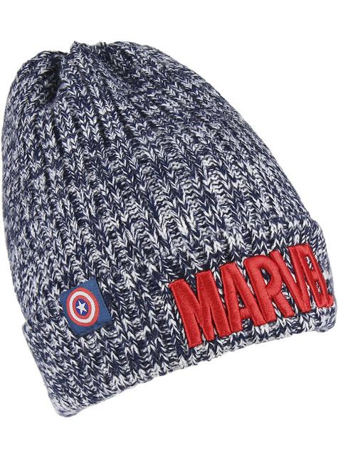 Čepice pro muže Marvel šedá - levné