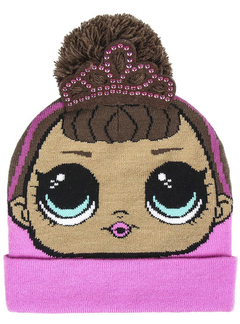 Różowa czapka LOL Surprise dla dziewczynek