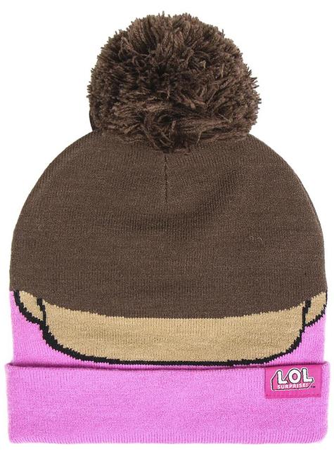 Różowa czapka LOL Surprise dla dziewczynek - oficjalny