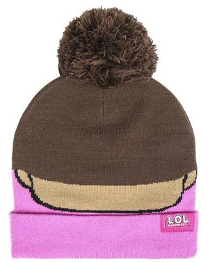"Детска шапка ""LOL Изненада"" в розово"