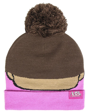 LOL Surprise hat for girls in pink