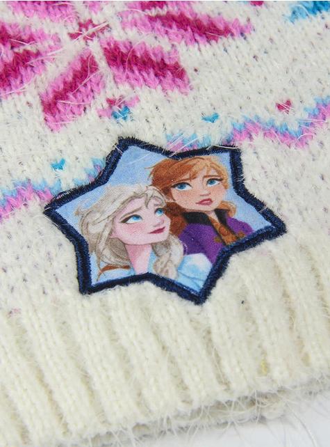 Bonnet La Reine des Neiges 2 blanc fille - Disney