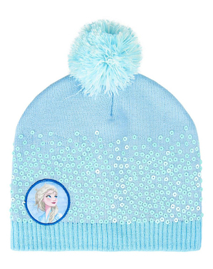 Bonnet La Reine des Neiges 2 bleu fille - Disney