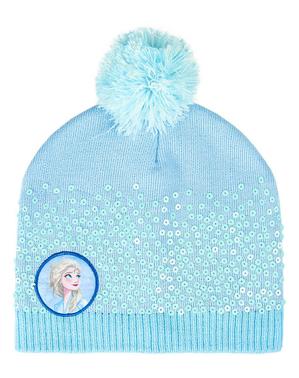 Căciulă Regatul de gheață 2 (Frozen) albastră pentru fată - Disney