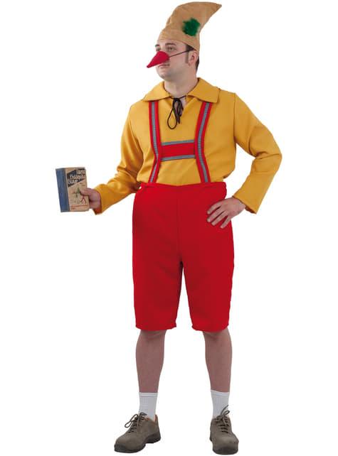 Disfraz de Pinocho para hombre