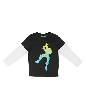 Fortnite Dancing kinderen lange mouwen T-shirt
