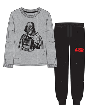 Darth Vader Pyjamas for Adults - Star Wars