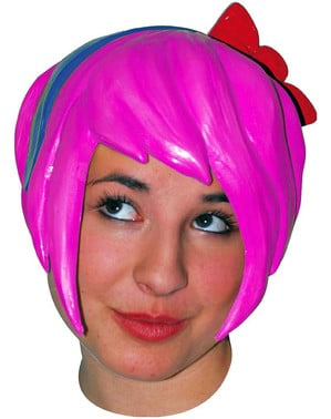 Yellow Halloween Anime Wig 5
