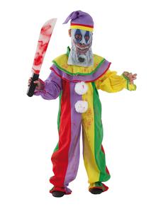 Disfraz de payaso psicópata infantil