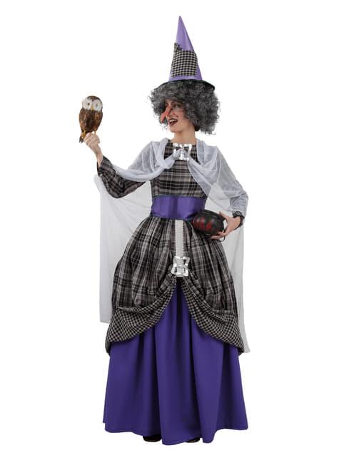 Disfraz de bruja elegante para mujer