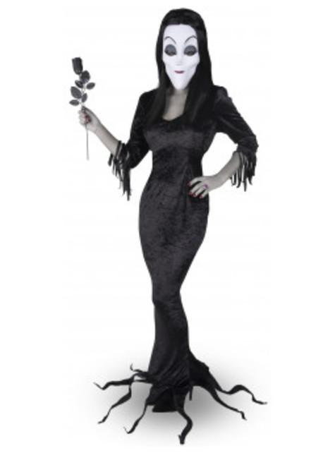 Disfraz de Morticia La Familia Addams para mujer